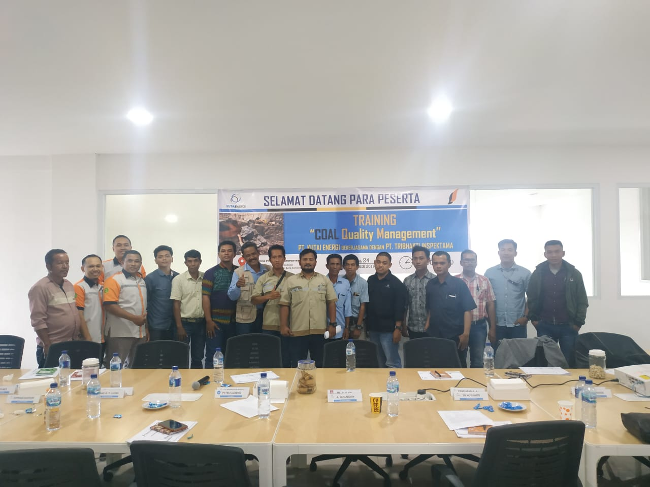 Training Coal Quality Management, Samarinda 23-24 October 2019
